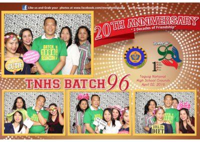 TNHS Batch'96 Reunion 20th Anniversary