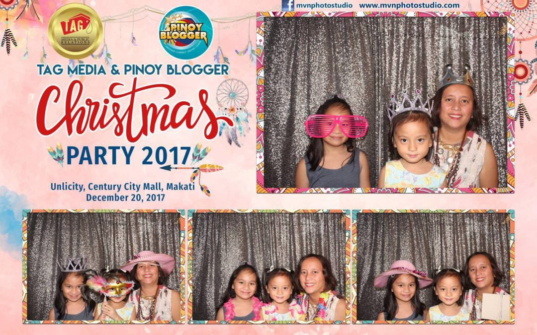Tag Media and Pinoy Blogger Christmas Party 2017